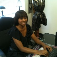 Fashion Designer and Owner of Page 27 Showroom Jontea` Luckett