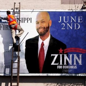 Walter Zinn is in the June 2nd runoff to represent the 1st Congressional District.