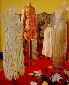 Josephine Baker's costumes at Chateau des Milandes.
